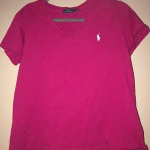 Polo by Ralph Lauren Tops - Pink polo shirt